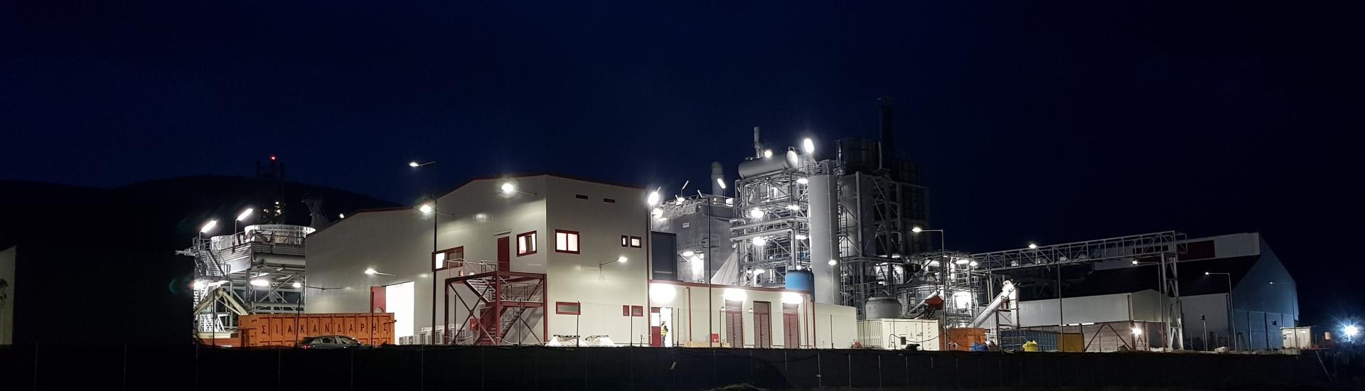 BIOMASS CHP POWER PLANT