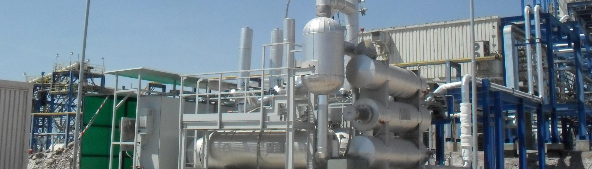 MOLTEN SALT TREATMENT PILOT PLANT